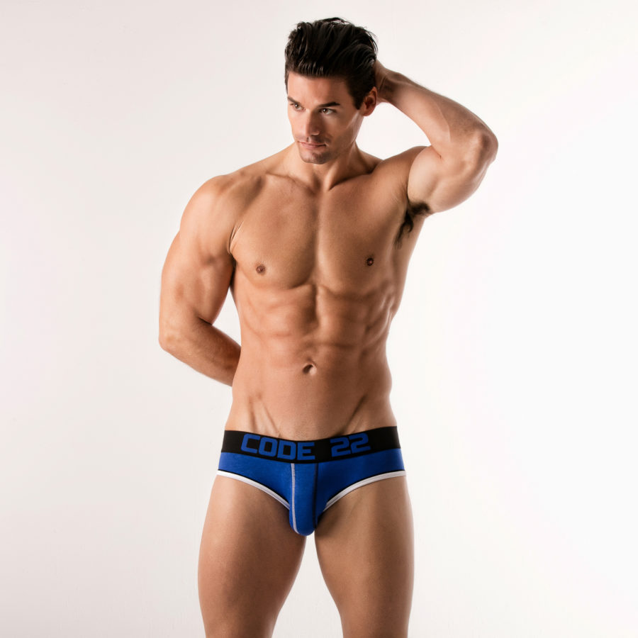 slip-hombre-02151-double-seam-brief-code22-blue-front
