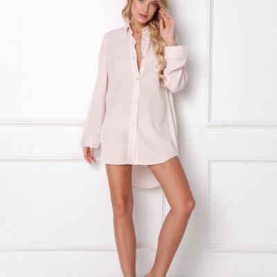 camisón-abotonado-con-cuello-camisero-rosa-danielle-marca-aruelle