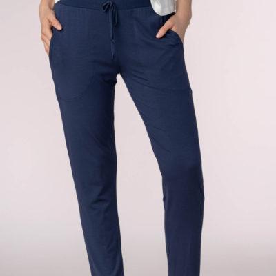 pantalon-azul-homewear-slim-fit-tobillero-sleepy-easy-16001-de-mey-front