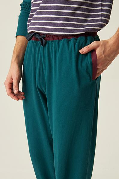 pijama-hombre-largo-rayas-azul-y-morado-cuello-pico-jjb5800-pantalon