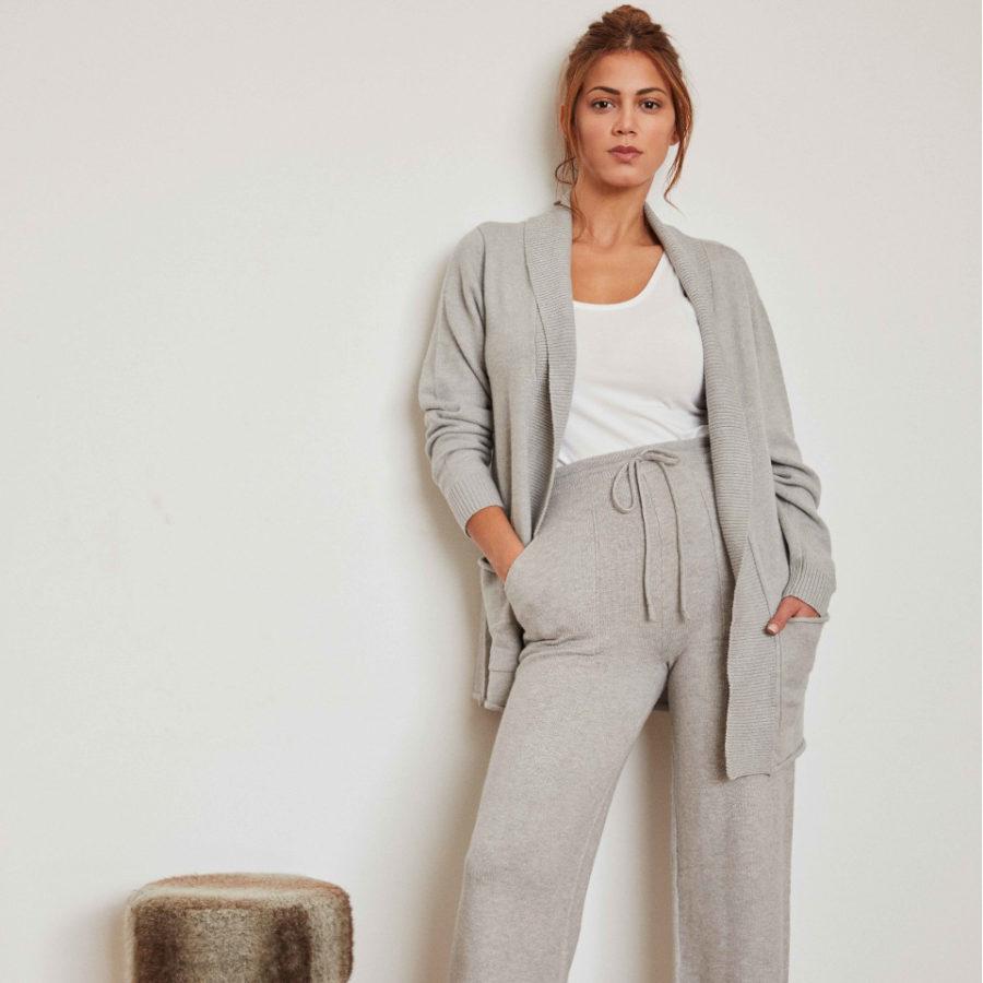 chaqueta-de-punto-abierta-de-mujer-gris-front-marca-gisela-celesteshops-burgos